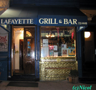 front view of Lafayatte Grill and Bar