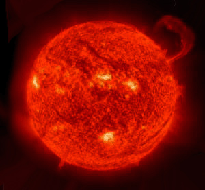 astronomical image of the Sun