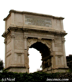 photo of an ancient arch