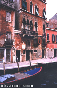 photo of a Venice canal